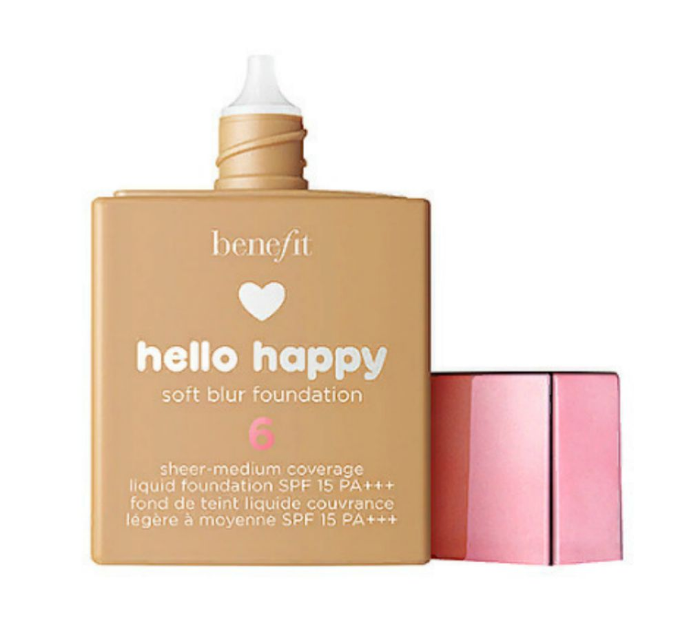 Benefit Hello Happy Foundation, light and smooth face base!