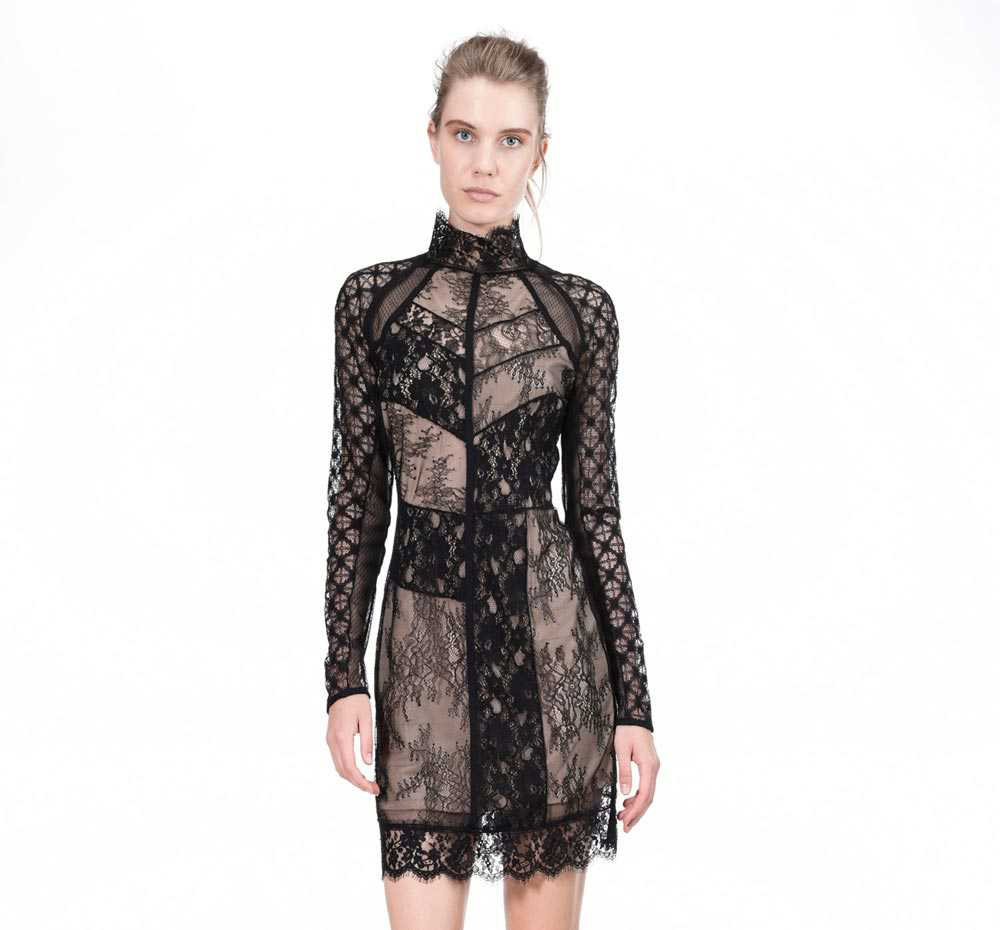 Pinko dress in lace