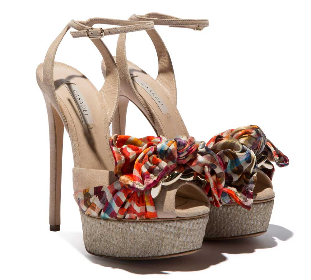 Casadei 2018 spring summer shoes: photos and prices