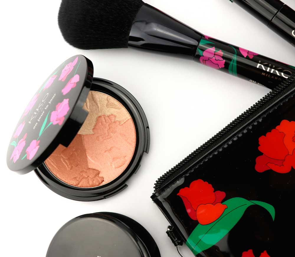 kiko make up collection with roses