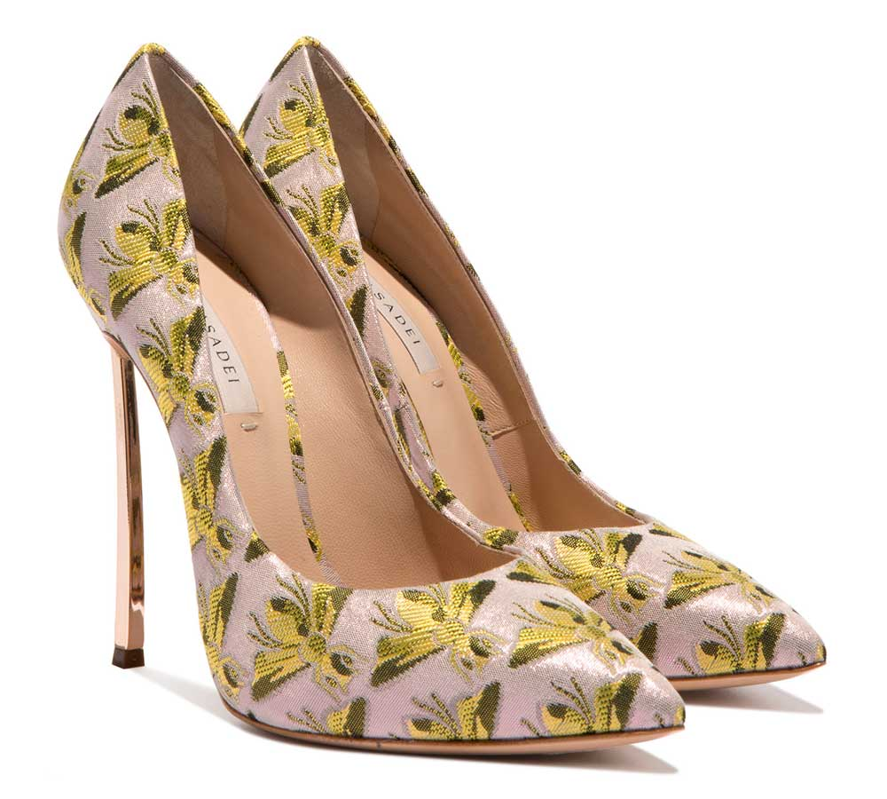 Casadei decollete with bees