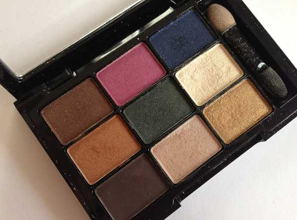eye shadow palette nyx mon cherie