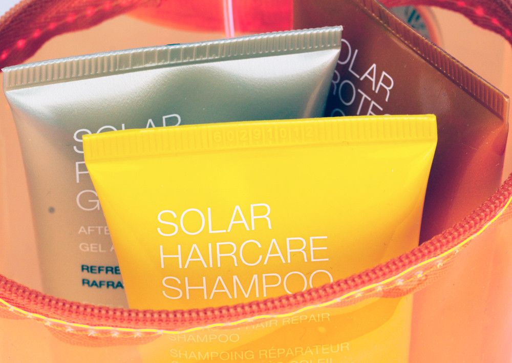 Kiko sunscreens body and hair: travel kit