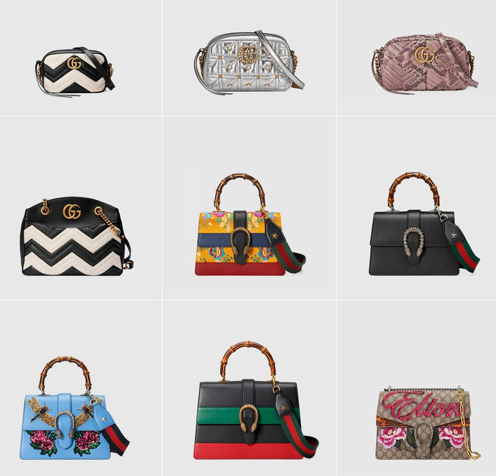 Gucci SS Bags 2017