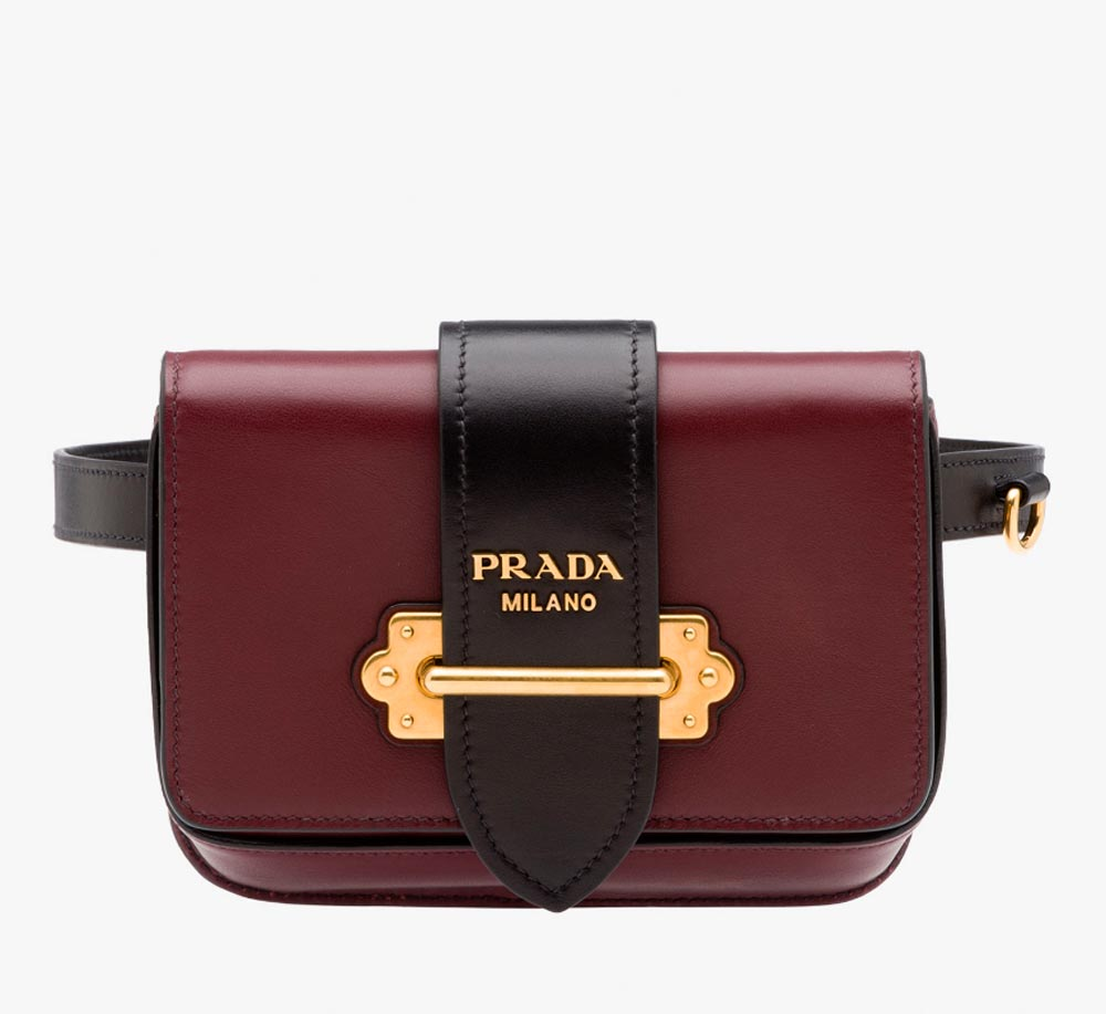 prada leather bags
