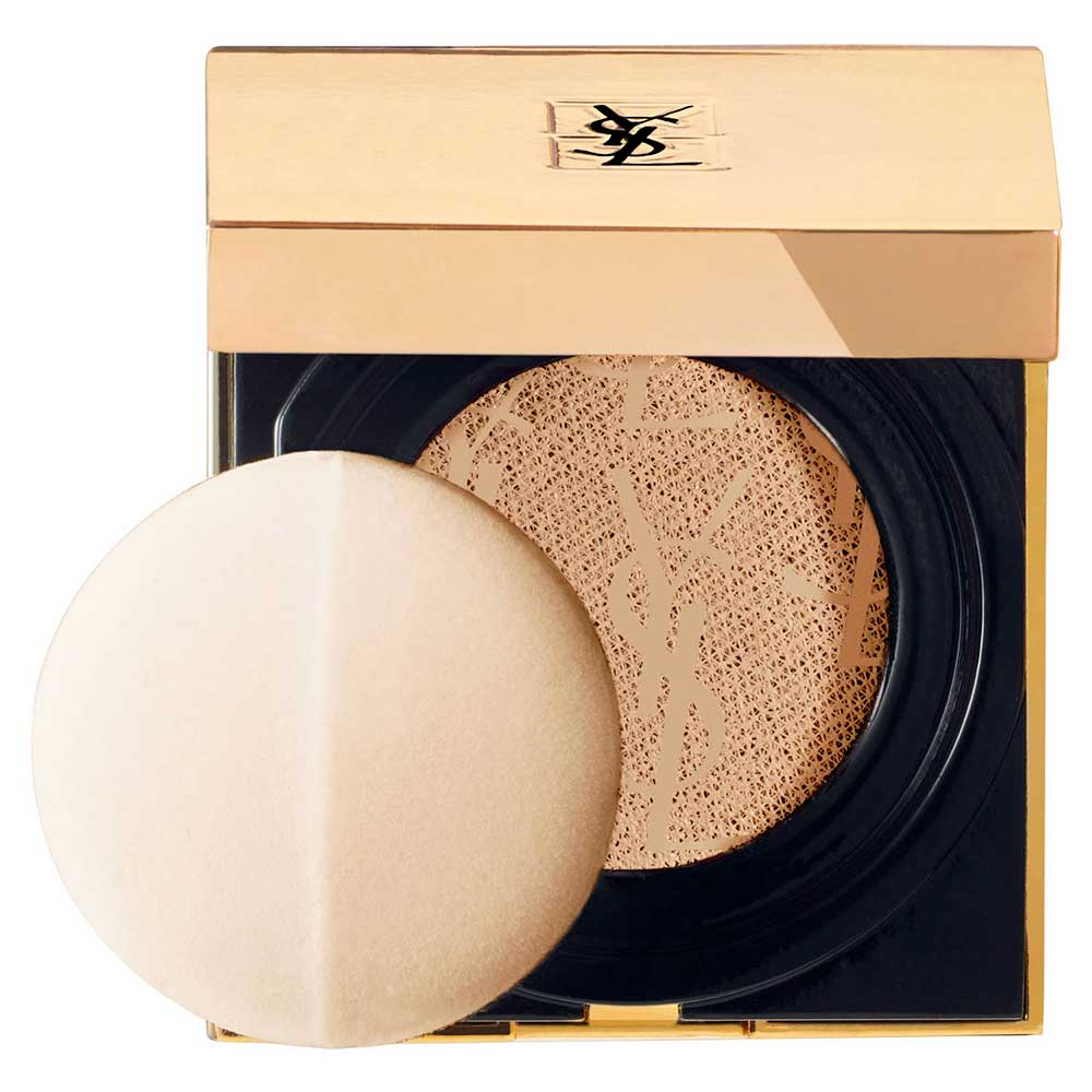Foundation YSL Touche Eclat Le Cushion and illuminating