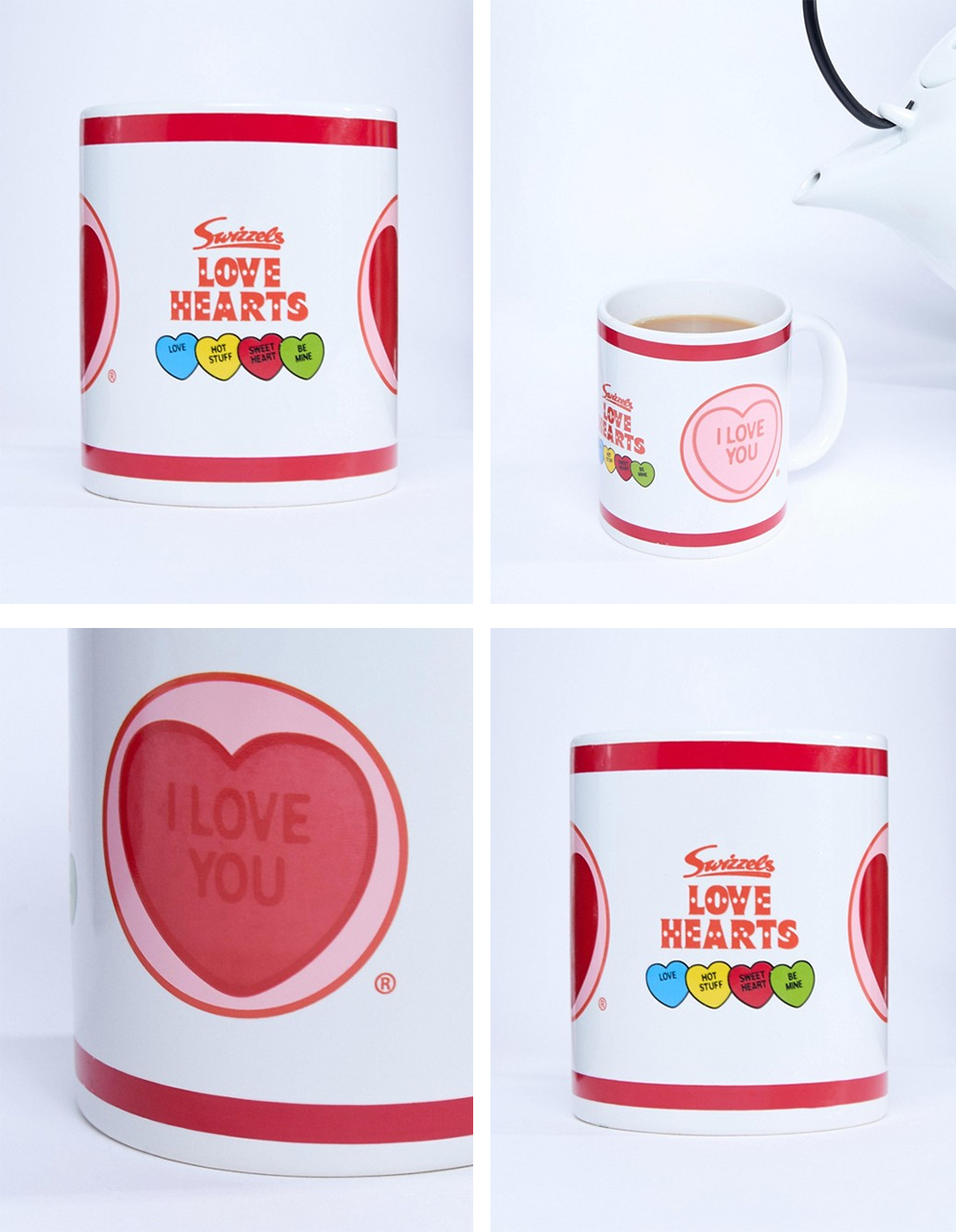 Valentine's day color changing cup
