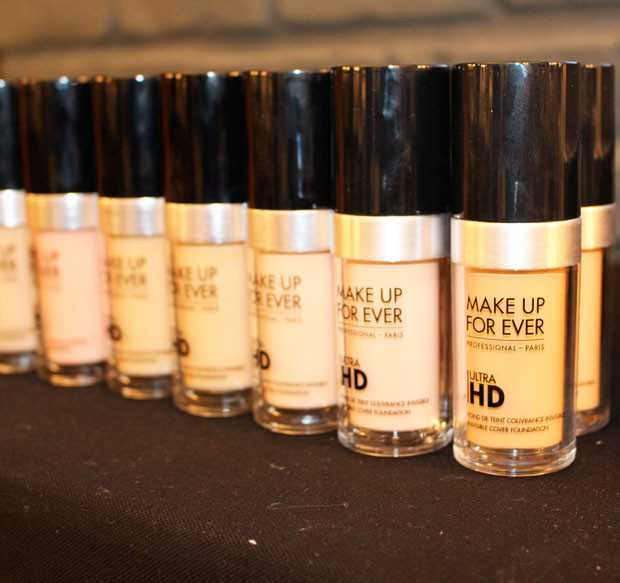 Ultra HD Foundation Make Up For Ever: The Make-up Event