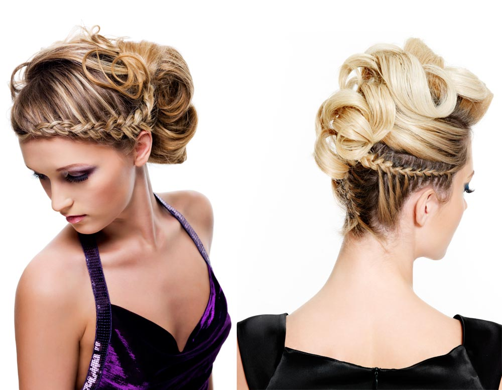 Hairstyles with Braids for New Year