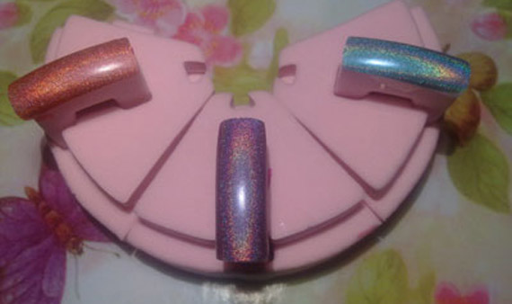 Pupa holographic enamels: swatches and review