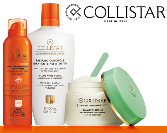 Collistar competition Win the sun