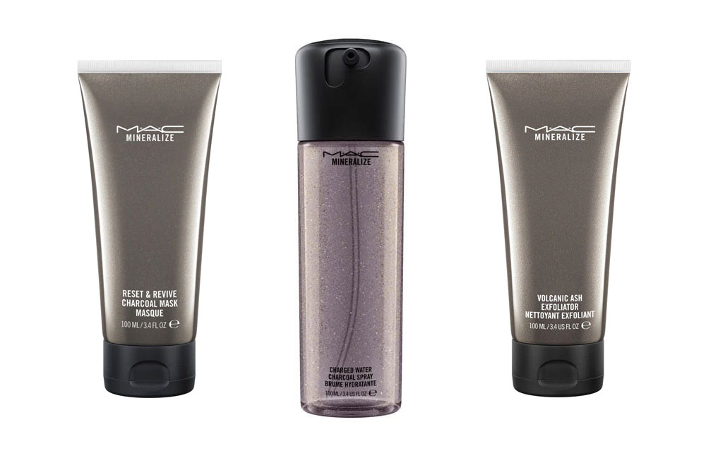 MAC products skincare vegetable charcoal