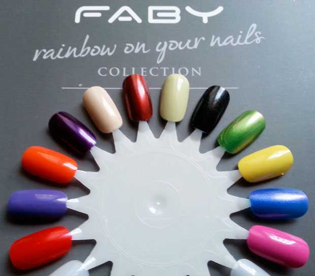 swatches enamels faby music