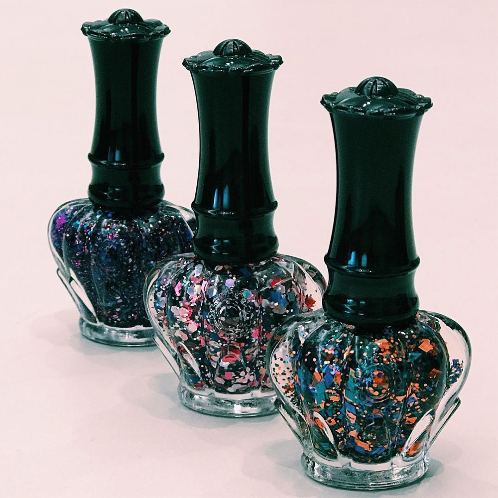 Anna Sui nail polishes
