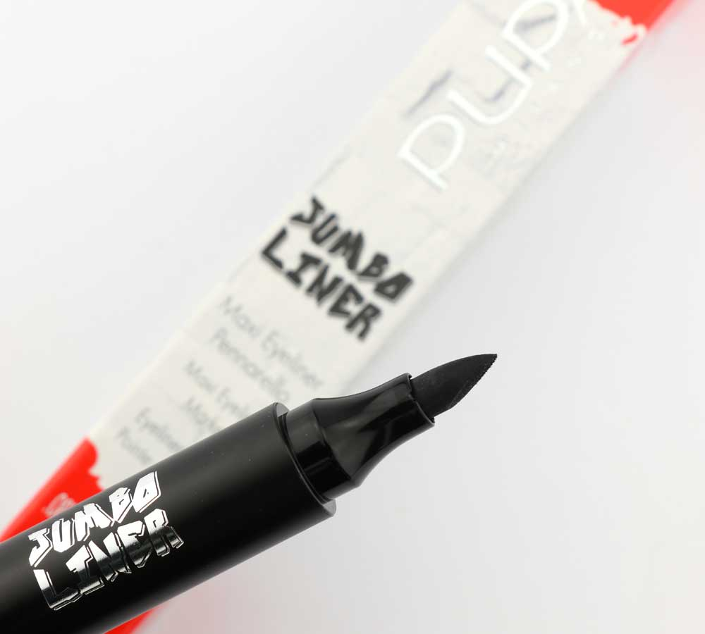Pupa eyeliner with Jumbo, Wing, Skinny and wheeled tip!