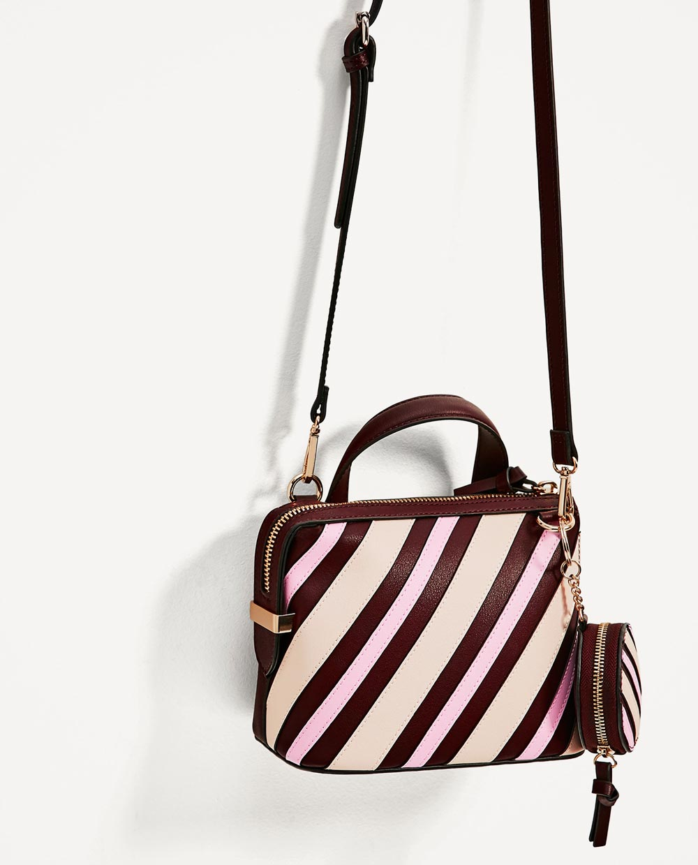 Zara Bags 2017 All The Models In Collection Our Best Style Double Strap Bag Striped Shoulder