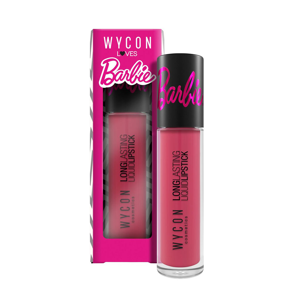 WYCON loves Barbie: new beautiful liquid lipsticks!