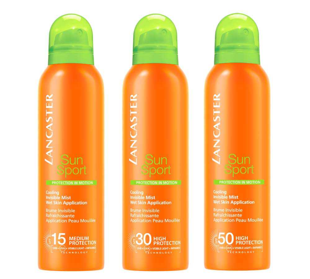 Sun Sport Spray Invisible Refreshing Lancaster Body