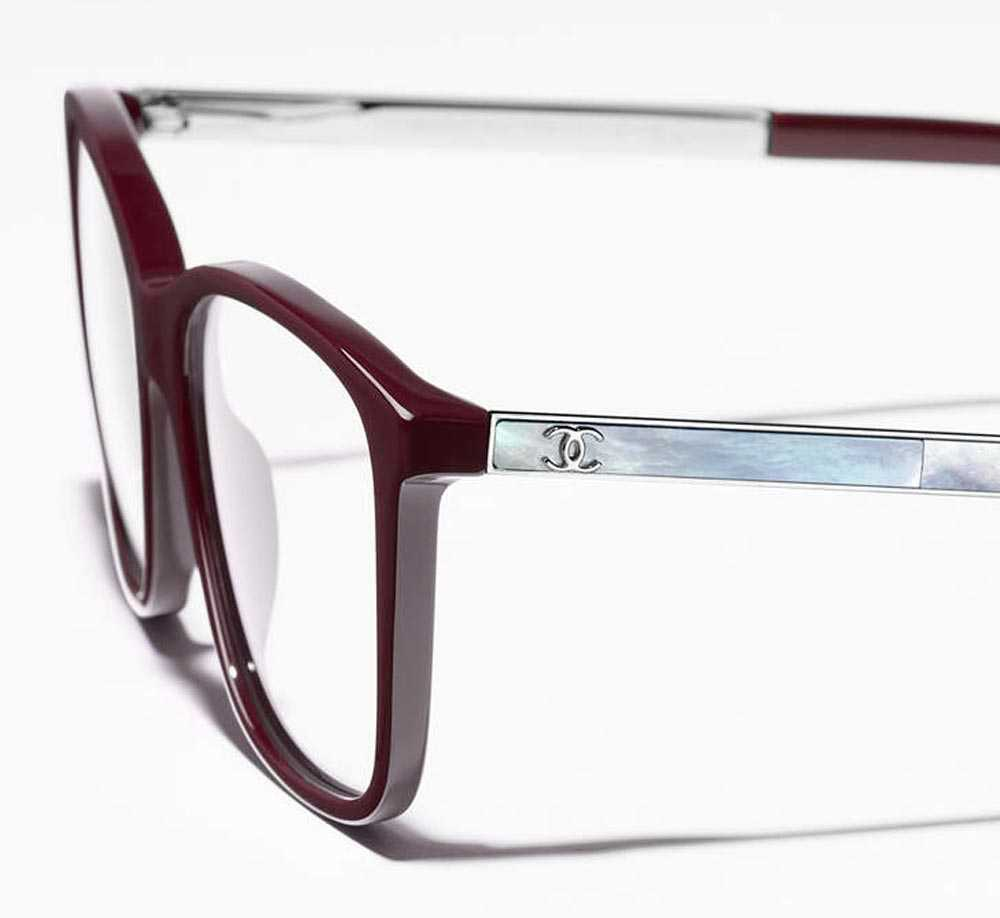 Chanel pearly eyeglasses