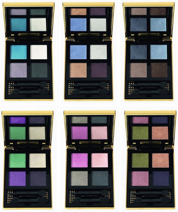Pure Chromatics: here are the YSL eye shadow palette
