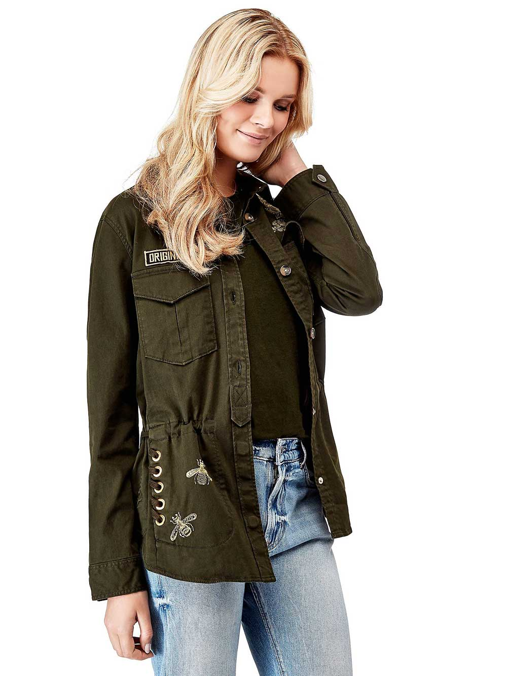 Guess military jacket