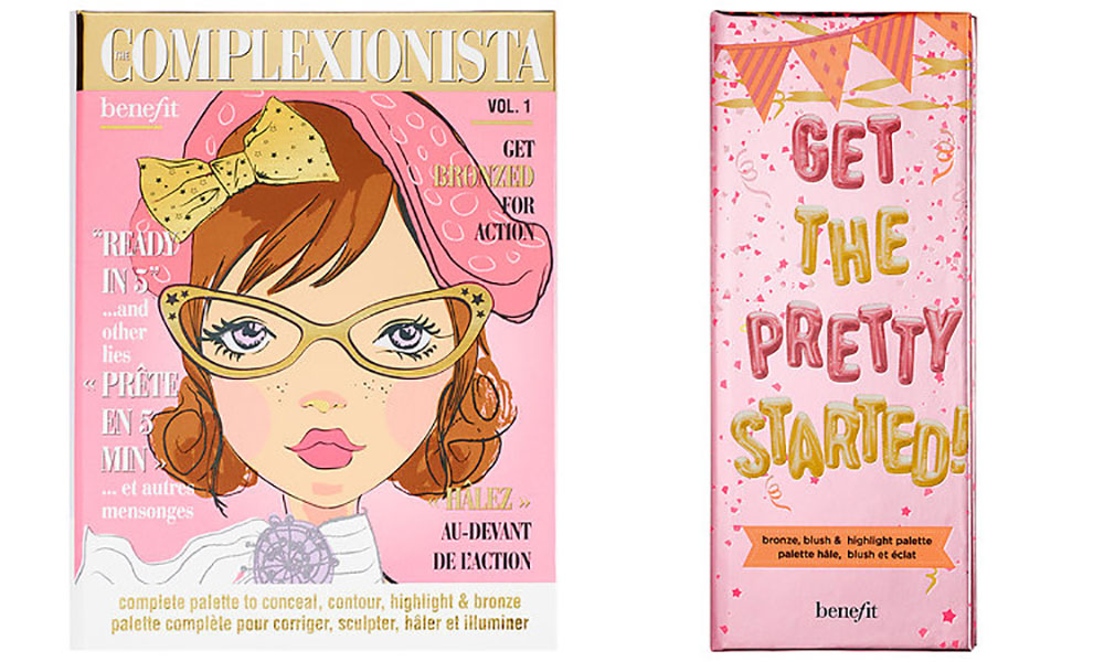 Benefit palette The Complexionista and Get the Pretty Started