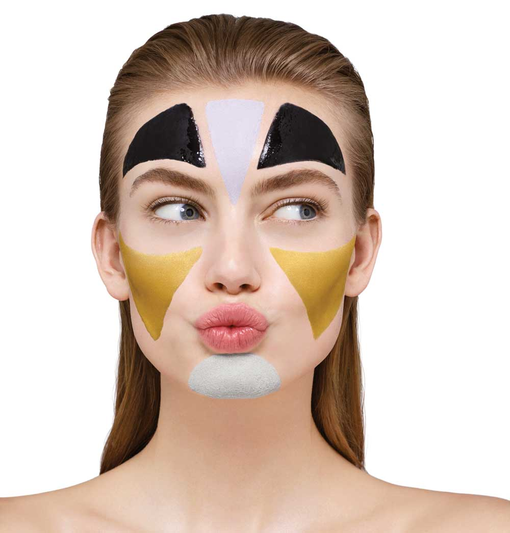 Pupa Milano single-dose face masks