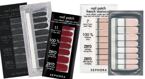 Sephora Nail Patch, adhesive glazes: perfect result!