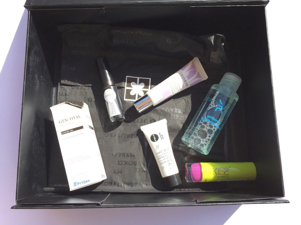 MyBeautyBox with Saturated Color, Crea-m, Dermo28, Elements, Prigen