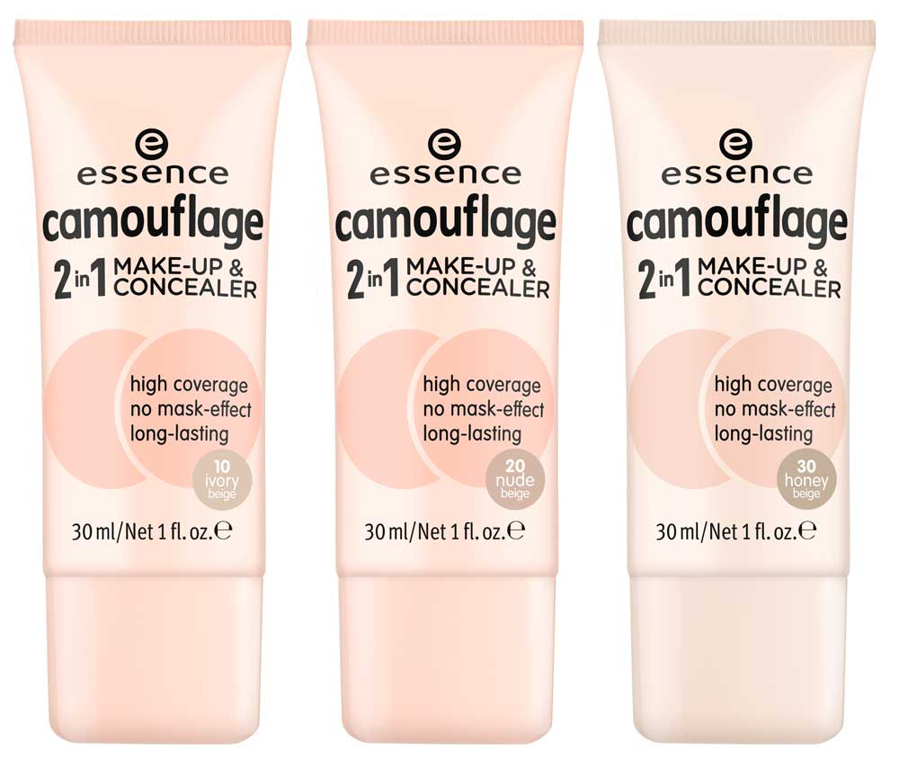 Essence camouflage 2 in 1