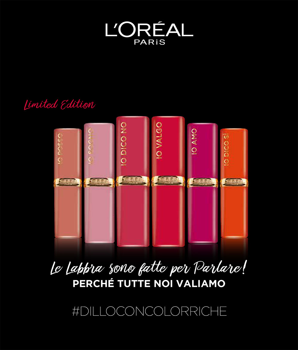 L'Oréal Color Riche Lips Are Made For Talking