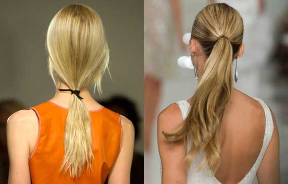 Summer hairstyles 2012: the most trendy collected hair