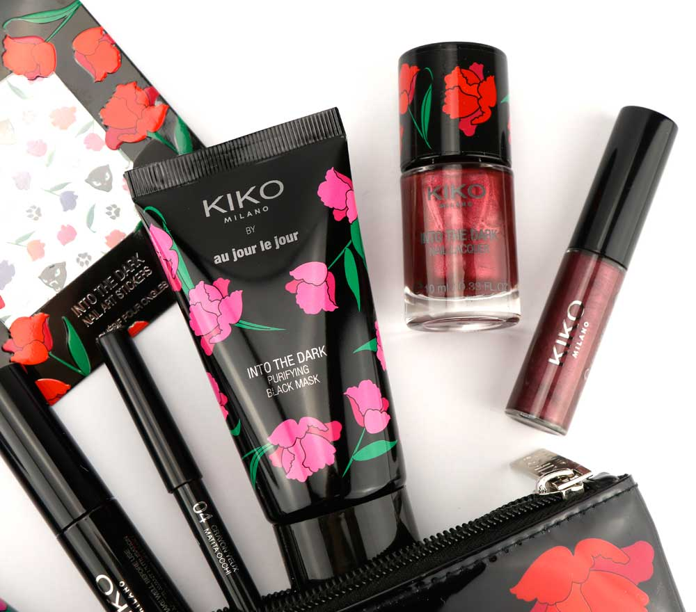 make up collection with kiko roses