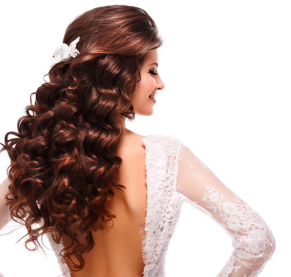 Brides Hairstyles Long Hair