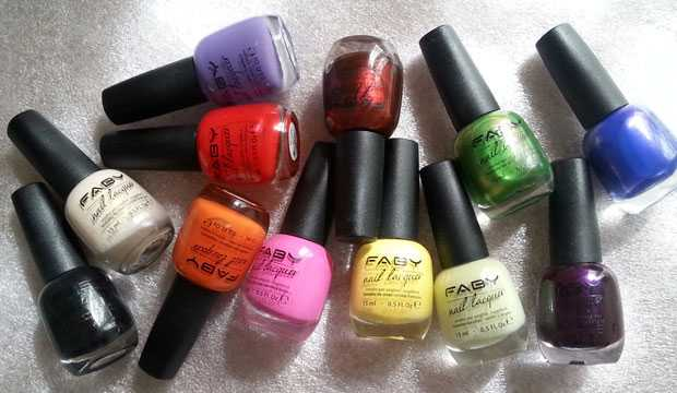 nail polish faby music