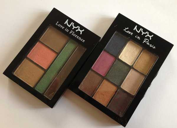 nyx love palette in paris