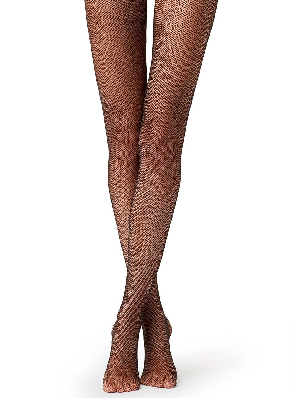 fishnet tights with glitter