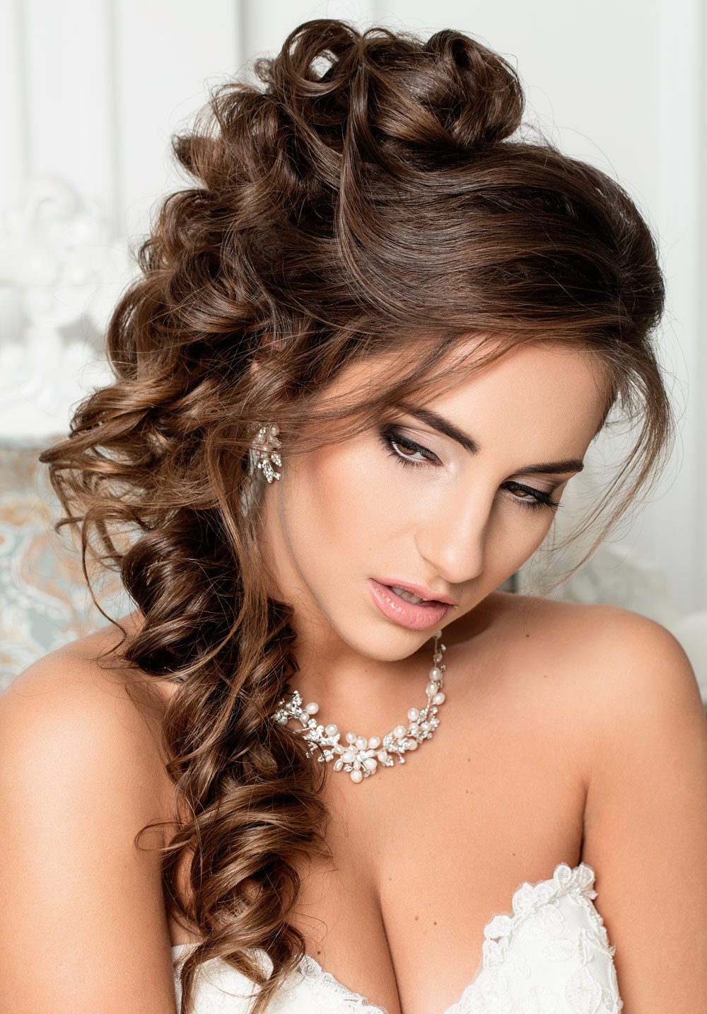 Hairstyle Bride Long Hair