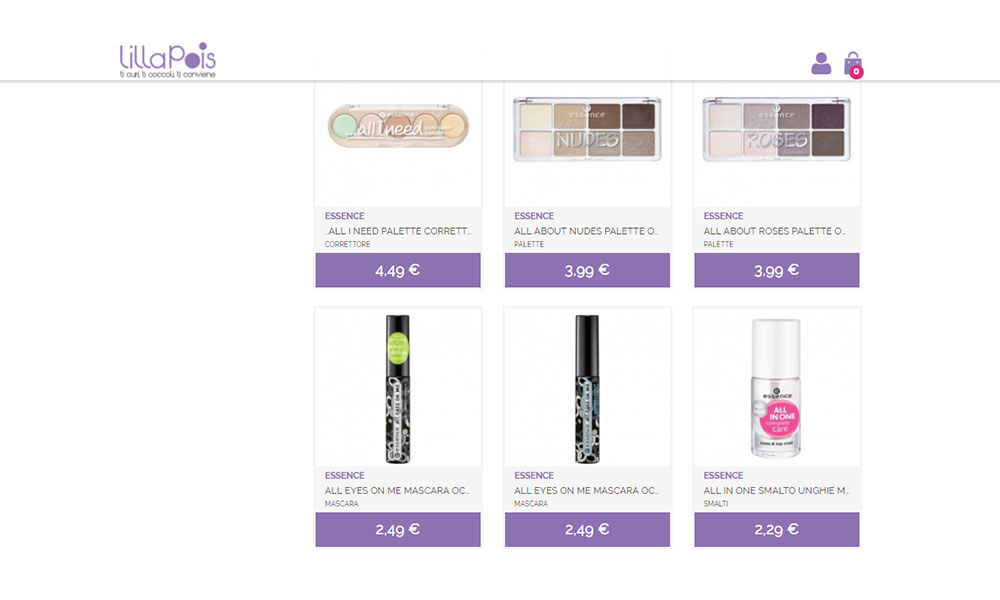 Lillapois sale Essence products