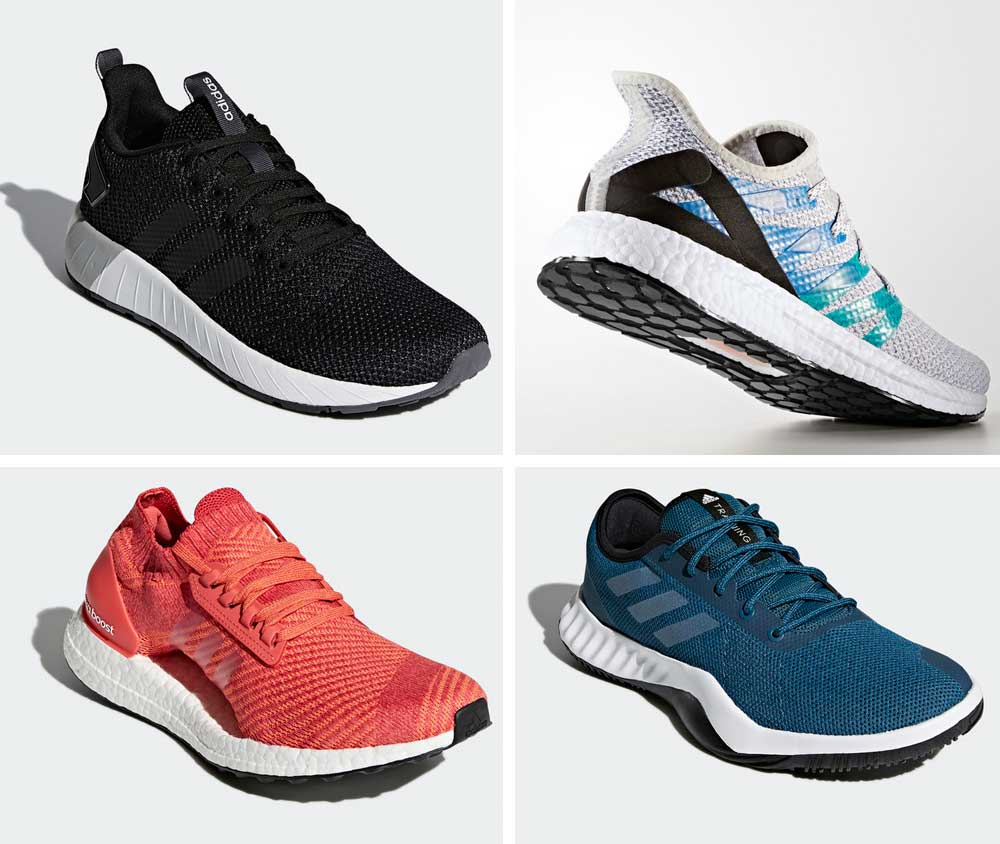 Adidas 2018 shoes for men and women