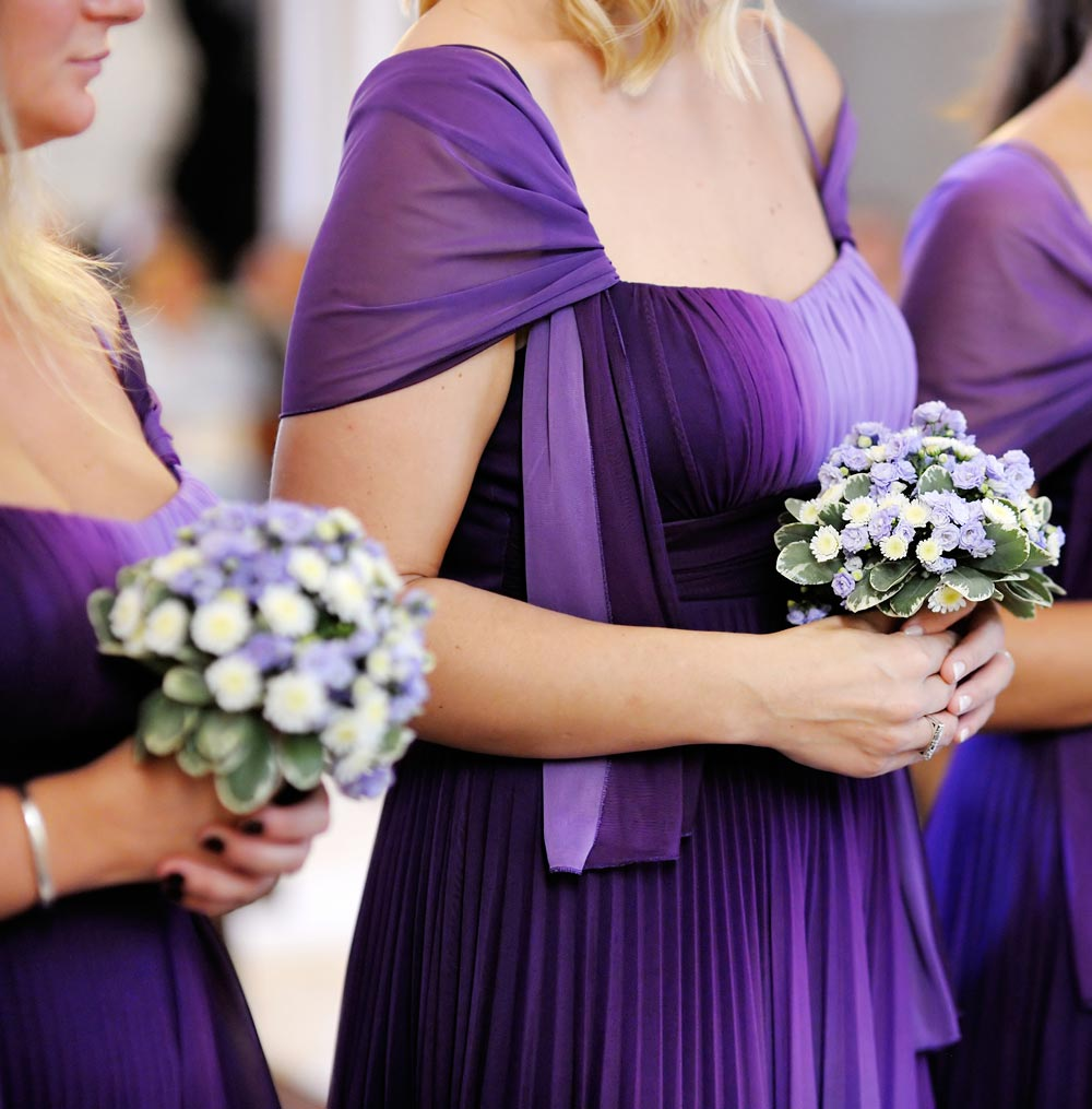 2018 ultra violet wedding trends