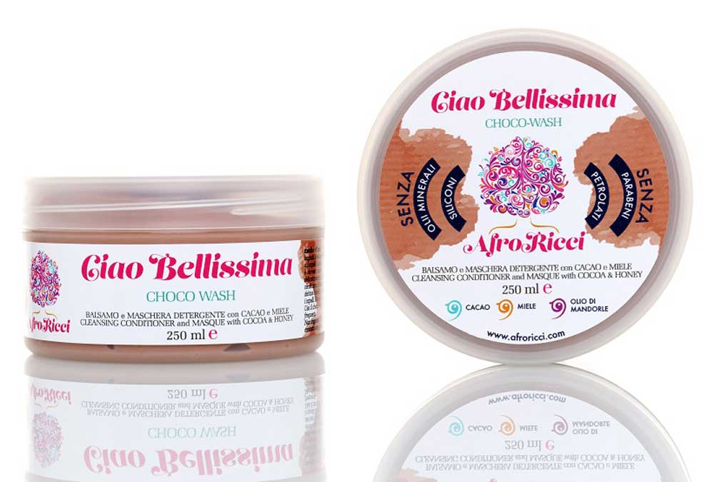 Balsam and afro curly hair mask
