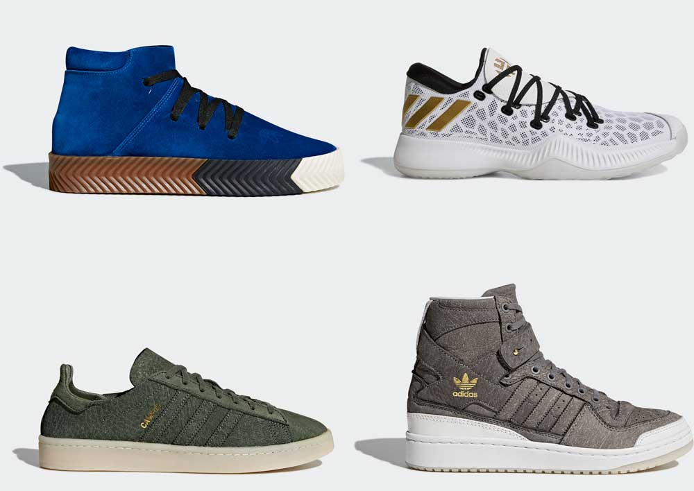 Adidas men's shoes 2018
