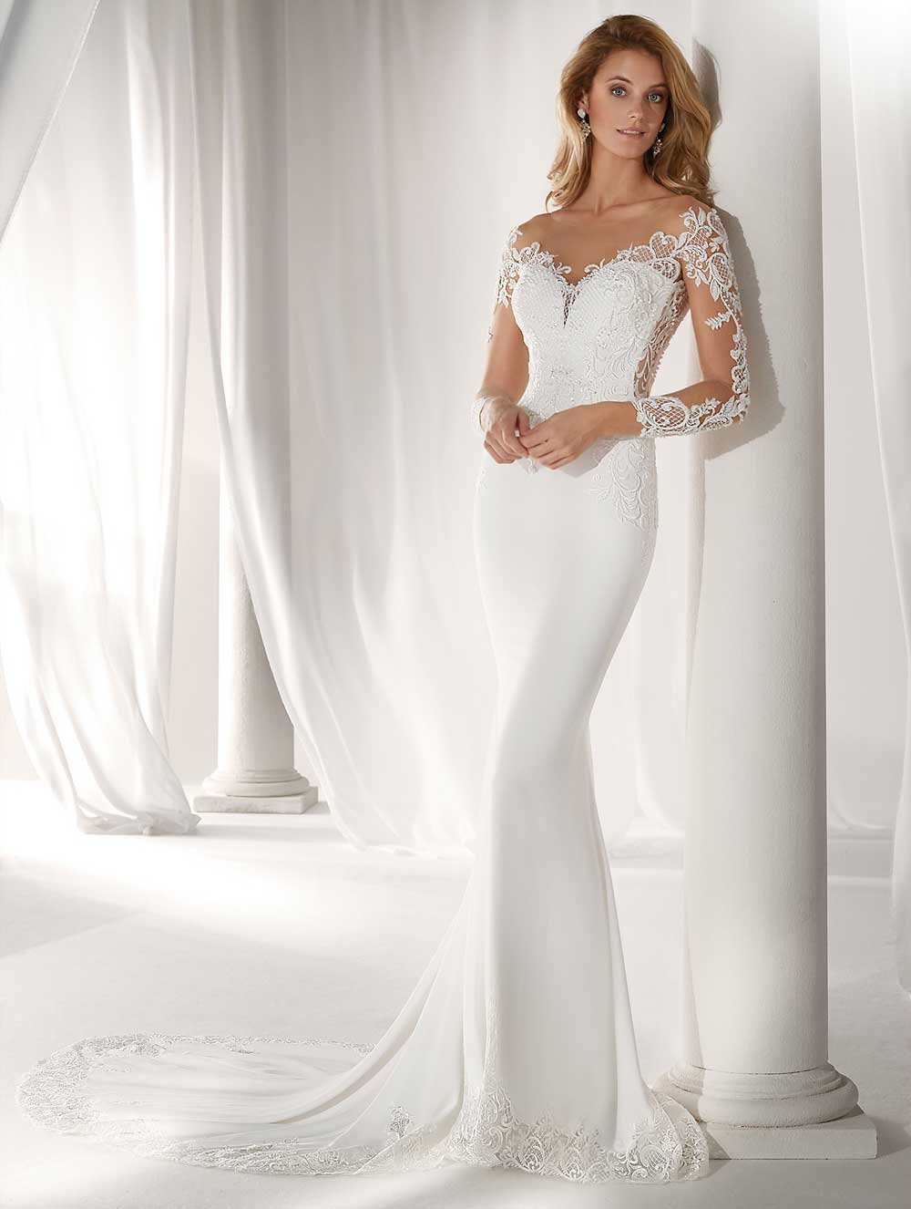 Nicole brides wedding dress 2019