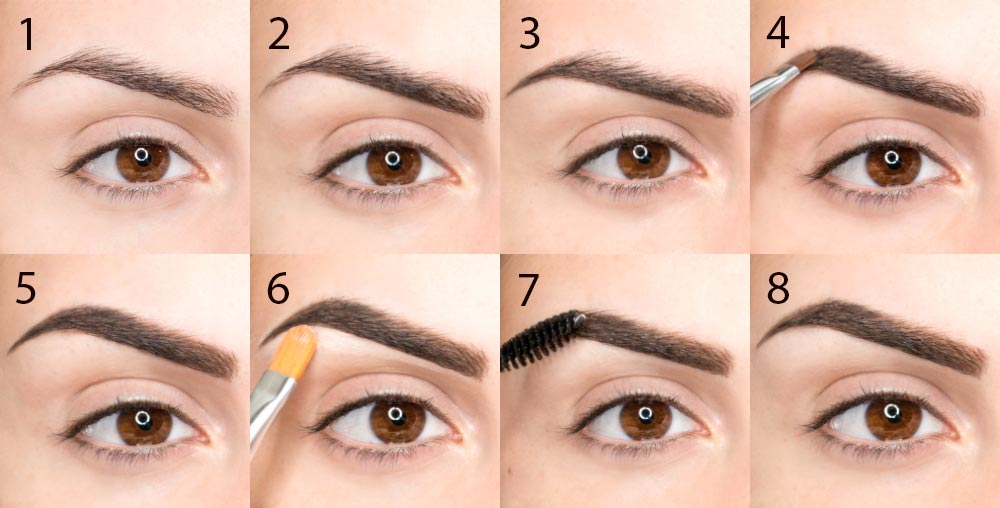 Perfect eyebrows: how to adjust, shape and make up