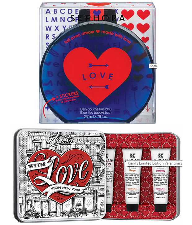 Valentine's Day Gifts 2015: make up and beauty ideas