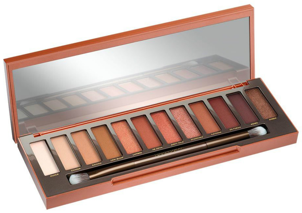 Urban Decay Naked HEAT palette, pencils and lipsticks