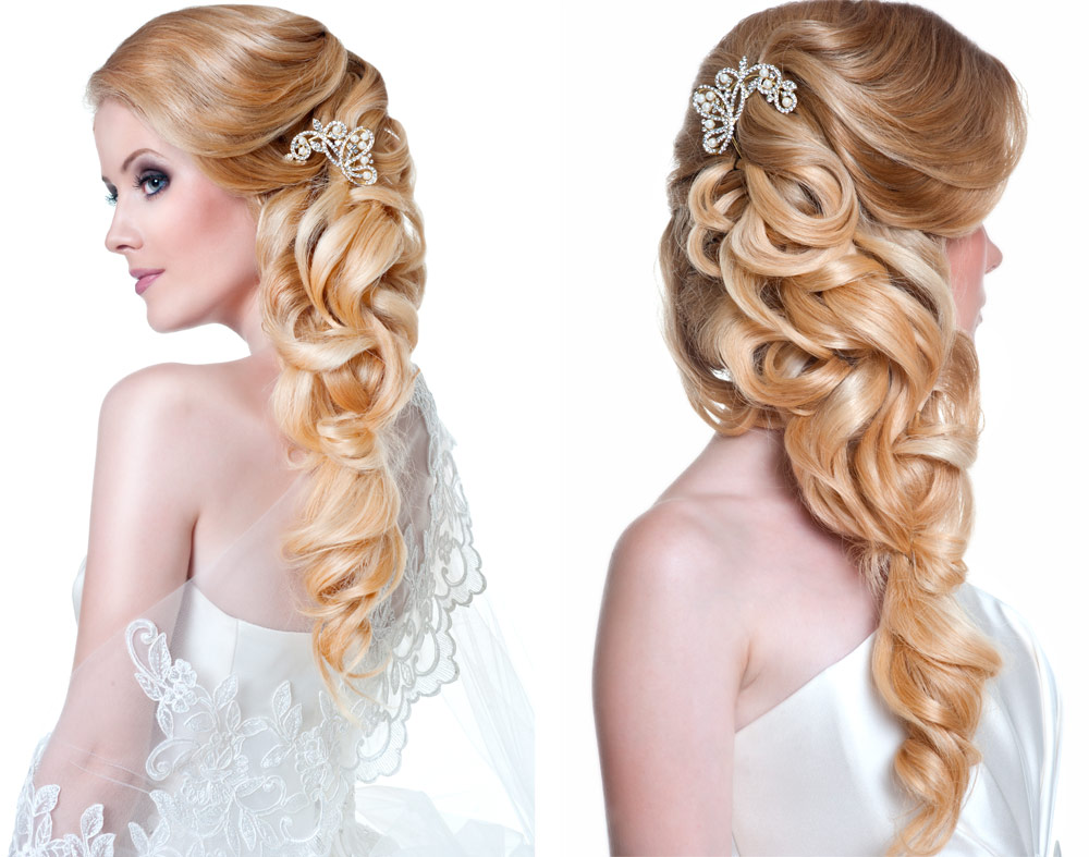 Bride Hairstyles with Jewel