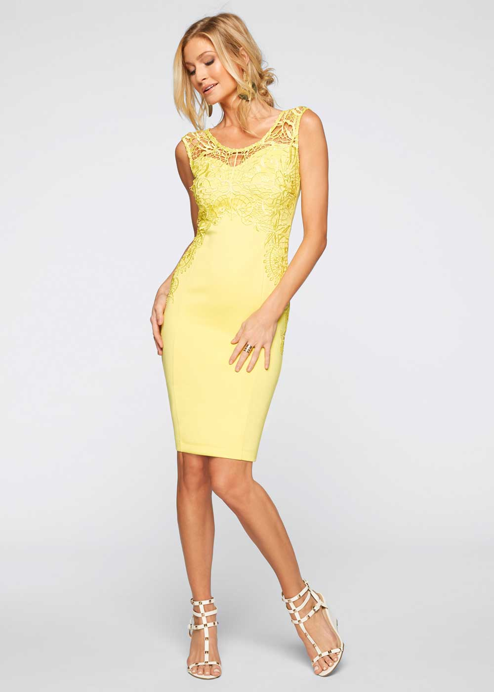 yellow ceremony dress