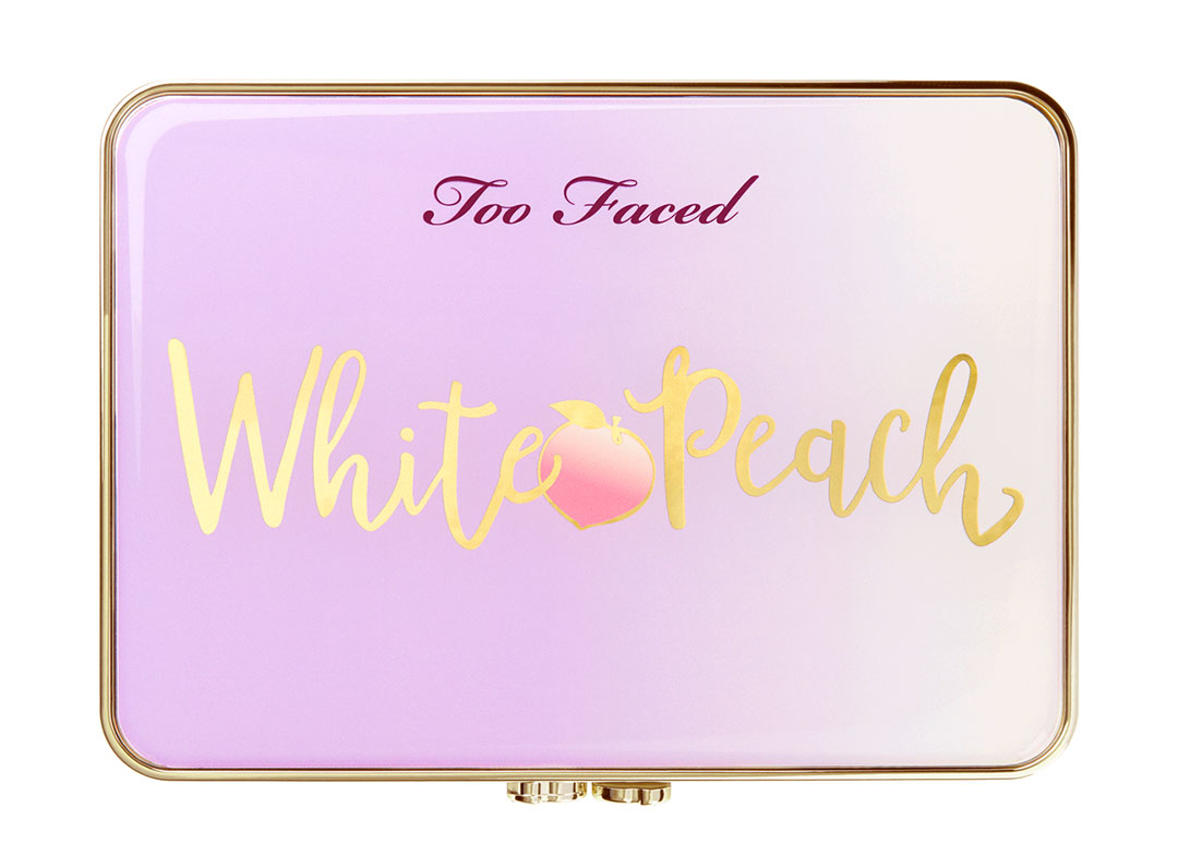 Too Faced White Peach Palette eyes